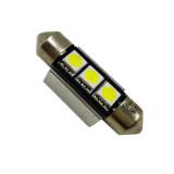 AVS Светодиодная лампочка C005 T11/белый/ (SV8,5) CANBUS 3SMD5050 36 мм 12V. (A07054S)