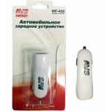 AVS USB автомобильное зарядное устройство 2 порта UC-433 (2,4А) (A78700S)