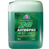 AGA050Z Антифриз, готовый к применению, зеленый -42С 10 л.