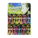 Paloma DUO дисплей (30шт) Освежитель воздуха д/авто