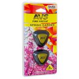 AVS Ароматизатор MM-015  Double Stream (аром. Spring garden/Весенний сад) (мини мембрана) (A78696S)