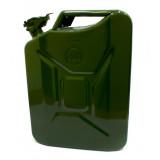 NB Канистра для бензина 20л. металлическая (38604)