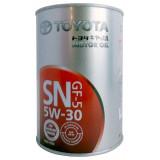 TOYOTA Motor Oil SN/CF 5W-30 1 л Масло моторное Япония