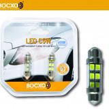 89512 0,6W 12V 535Lm SV8.5-8 (аналог C5W) Standard (бл.2шт) BOCXOD Автолампа светодиодная LED