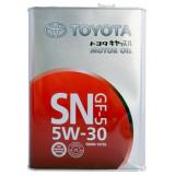 TOYOTA Motor Oil SN/CF 5W-30 4 л Масло моторное Япония