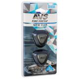 AVS Ароматизатор MM-005 Double Stream (аром. New Car/Новая машина) (мини мембрана) (A78693S)