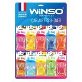 WINSO ароматизатор воздуха Air Bag  микс-дисплей (30шт.) MIX №1