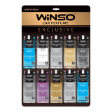 WINSO ароматизатор воздуха Card Exclusive  микс-дисплей (50шт.) MIX №1