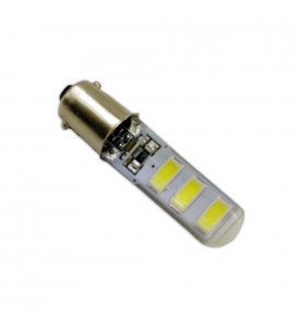 AVS Светодиодная лампочка B044 T8/белый/(BA9S) 6SMD 5730 12V, блистер 2 шт. (A07056S)