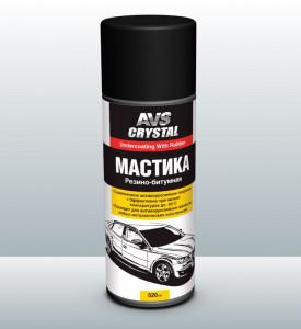 AVS Резино-битумная мастика (аэрозоль) 520 мл. AVK-120 (A78231S)