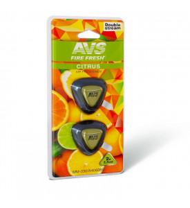 AVS Ароматизатор MM-030 Double Stream (аром. Citrus/Цитрус) (мини мембрана) (A40608S)