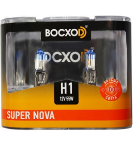 80511(C)SN-2BOX Автолампа галогенная (Super Nova + 100 %) H1 12V 55W P14.5s (2 set)