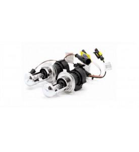 AVS Лампы би-ксенон H4 (5000K) (2 шт.) + комплект проводов KET (43338)