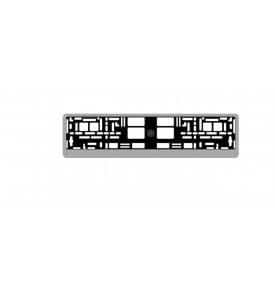 AVS Рамка под номерной знак карбон (светлый)RN-05 (A78107S)
