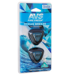 AVS Ароматизатор MM-004 Double Stream (аром. Ocean Breeze/Океанский бриз) (мини мембрана) (A78692S)