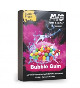 AVS Ароматизатор US-003 Super Fresh (аром. Бабл гам/Bubble gum) (гелевый) (A07501S)