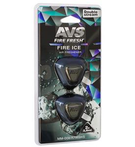 AVS Ароматизатор MM-009 Double Stream (аром. Fire Ice/Огненный лёд) (мини мембрана) (A78694S)