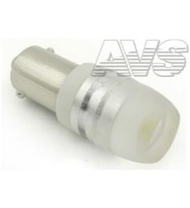 AVS Светодиодная лампочка B016 Т8/белый/ (BA9S) 1,5W LENS CONE, блистер 2 шт (A80642S)